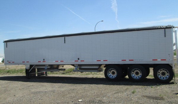 2019 White 45′ Timpte Grain Trailer